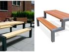 Увидеть фото  Уличные столы со скамейками 39101020 в Новосибирске