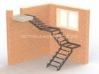 Изображение в   Завод лестниц на металлическом каркасе производство в Москве 60000