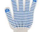 Уникальное изображение  Рабочие перчатки ХБ с ПВХ 4 ниток 39493903 в Санкт-Петербурге