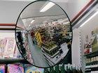 Просмотреть foto  Зеркало обзорное для помещений круглое, Ду 500 мм 39496512 в Ростове-на-Дону