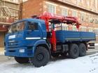Новое фотографию  Камаз-43118 c кму taurus 086A, 2013 год, 39577760 в Казани