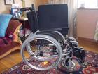 Новое фото Медицинские приборы Инвалидная коляска в отличном состоянии 39648928 в Москве