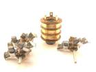 Уникальное фотографию Электрика (оборудование) Коллектор кольцевой в сборе со щеткодержателем к российским талям ТЭ100, ТЭ200, ТЭ320, ТЭ500 39813187 в Москве