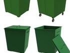 Просмотреть изображение  Контейнер для мусора 0, 75м3 купить в Сургуте 39922076 в Сургуте