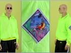 Скачать фото Спортивная одежда Анорак Hotdogger, Rave Collect/Lime,1992 г, в, 39924449 в Москве