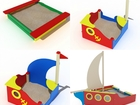 Увидеть foto  Песочницы для детского сада купить в Рязани 40014418 в Рязани