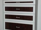 Свежее фото Мебель для спальни Комод с 4 ящиками новый продается 40065972 в Москве