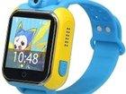 Уникальное фото Часы-телефоны: Apple Watch, Smart Watch Умные детские часы с GPS Smart Baby Watch Q75 Blue 40255254 в Москве