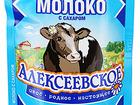 Скачать бесплатно изображение Сгущенное молоко Молоко Алексеевское сгущенное цельное с сахаром 8,5%, 270г 40667274 в Москве