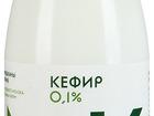 Уникальное изображение Кефир, кисломолочные напитки Кефир Братья Чебурашкины обезжиренный 0,1% 0,5кг 40668212 в Москве