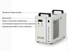 Крупноформатный принтер UV охлаждается чиллером CW-5000 S&A