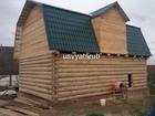 Скачать бесплатно фото Строительство домов Срубы бань и домов в лапу из сосны от производителя 53070435 в Москве