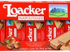 Скачать бесплатно foto Вафли Вафли Loacker Napolitaner с ореховой начинкой, 225г 55549627 в Москве