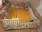 Свежее изображение Мебель для детей Манеж детский деревянный из массива бука 58674852 в Москве