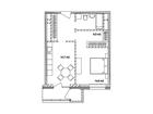 Продается 1-комн. кв-ра площадью 53,2 кв.м на 17 этаже 17 эт