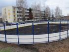Смотреть фотографию  Производство и монтаж хоккейных коробок с бортами 68397754 в Новосибирске