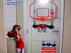 Смотреть изображение Детские игрушки Баскетбольный щит со счётчиком очков с мячом и насосом 68825438 в Москве