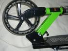 Скачать бесплатно фото Спортивный инвентарь Самокат Pro Line Scooter 200 мм зелено-оранжевый 69550244 в Москве