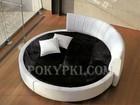 Просмотреть изображение Мебель для спальни Купить круглую кровать «Индира» 71683373 в Москве