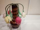 Смотреть фотографию  Старинный светильник-ночникТюльпаны в вазе СССР 72341696 в Дмитрове