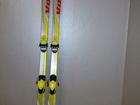 Увидеть фото Спортивный инвентарь Горные лыжи Volki Energy 220 с креплениями б/у 73523161 в Москве