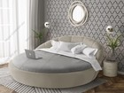 Увидеть изображение  Круглая кровать «Милана» с доставкой 83500031 в Москве