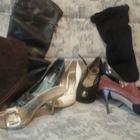 Женская обувь б/у в отличном состоянии, известных мировых брендов