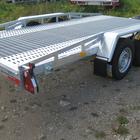 Новый прицеп-автовоз для перевозки спецтехники