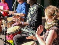 Приглашаем на занятия по игре на африканском бараб Музыкальная школа этнической