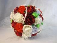 Букет невесты Этот букет дополнит и приукрасит образ невесты, сделает его по-нас