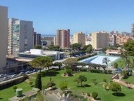 Недвижимость в Испании, Недорогая квартира с видами на море в Бенидорм Недвижимо