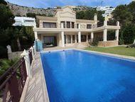 Недвижимость в Испании, Вилла с видами на море в Альтеа Вилла с видами на море в