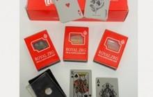 Карты игральные покерные Королевские пластик