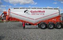 Цементовоз GuteWolf, 34м3, вакуумный