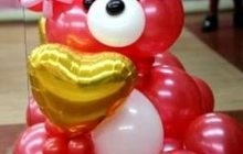 Фигуры из шариков, гелиевые шары