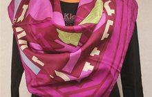 платок Hermes шелковый