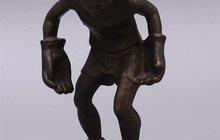 Скульптура Вратарь СССР, 1950-60 г