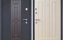 Стальные трех контурные двери в квартиру