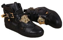 Сникерсы Versace Leather Medusa High-Tops 2