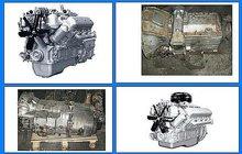 Двигатели ЯМЗ-236,ЯМЗ-238 и КПП с хранения