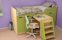 Кровать для ребёнка 3-12 лет Караван 7