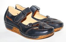 Туфли черные кожа удобные 39р