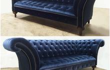 Курс изготовление дивана честерфилд