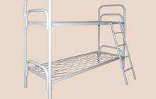 Односпальные кровати металлические для детских оздоровительных лагерей