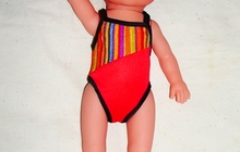 Кукла юный пловец Лялечка