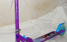 Самокат Холодное сердце Disney колеса 12,5 см Navigator двухколесный