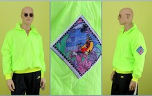 Анорак Hotdogger, Rave Collect/Lime,1992 г, в