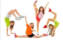Акробатика для дошколят (3, 5-6 лет)