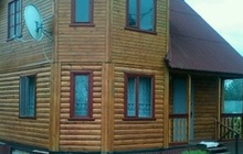 Продается дача - 2-х этажный дом из бруса площадью 75 м2 на участке 30 соток