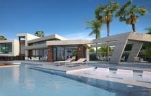 Недвижимость в Испании, новая вилла с видами на море